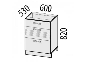 Шкаф кухонный напольный Рио 16.66