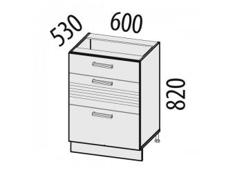Шкаф кухонный напольный Рио 16.91 (с системой плавного закрывания)