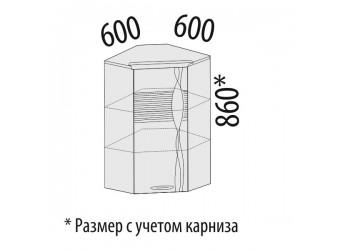 Шкаф кухонный угловой Софи 22.20