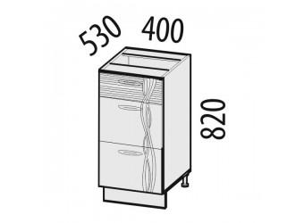 Шкаф кухонный напольный Софи 22.90 (с системой плавного закрывания)