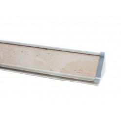 Плинтус для столешницы ПЛ 13 с заглушками (155-300 см)