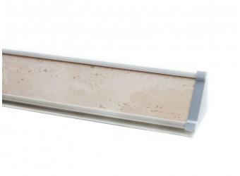 Плинтус для столешницы ПЛ 13 с заглушками (20-150 см)