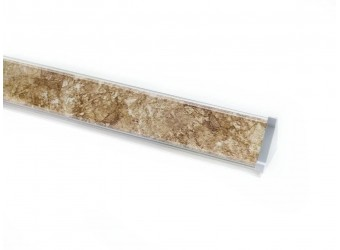 Плинтус для столешницы ПЛ 14 с заглушками (20-150 см)