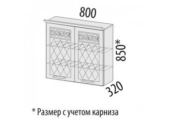 Шкаф-сушка кухонный Тиффани 19.02