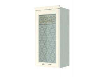 Шкаф-витрина кухонный навесной Тиффани 19.04
