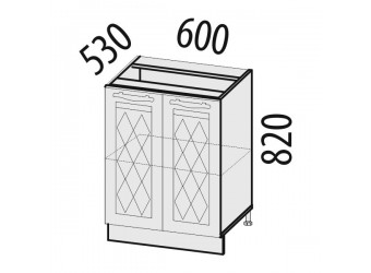 Шкаф кухонный напольный Тиффани 19.58