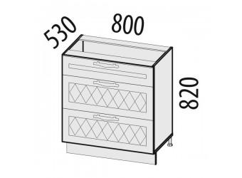 Шкаф кухонный напольный Тиффани 19.67
