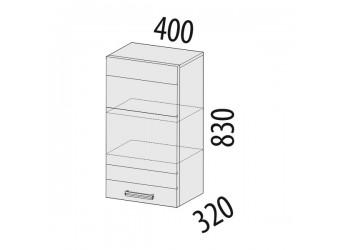 Навесной кухонный шкаф Тропикана 17.03 правый