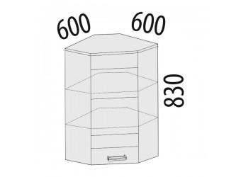 Шкаф кухонный угловой Тропикана 17.20