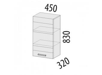Навесной кухонный шкаф Тропикана 17.22