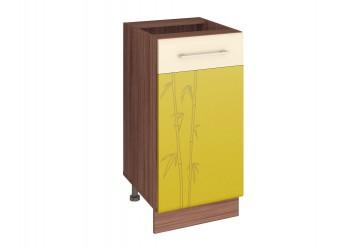Шкаф кухонный напольный Тропикана 17.54