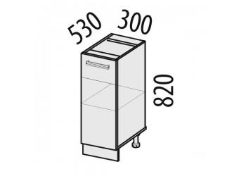 Шкаф кухонный напольный Тропикана 17.55