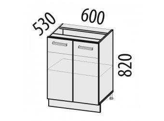 Шкаф кухонный напольный Тропикана 17.58