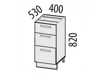 Шкаф кухонный напольный Тропикана 17.59