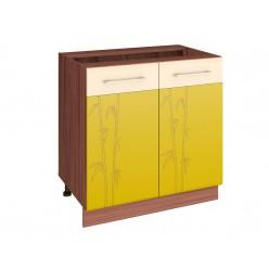 Шкаф кухонный напольный Тропикана 17.60