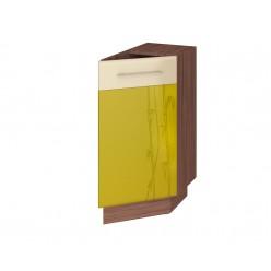 Шкаф кухонный угловой Тропикана 17.64 правый (торцевой)