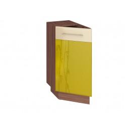 Шкаф кухонный угловой Тропикана 17.65 левый (торцевой)