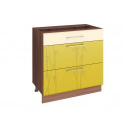 Шкаф кухонный напольный Тропикана 17.67