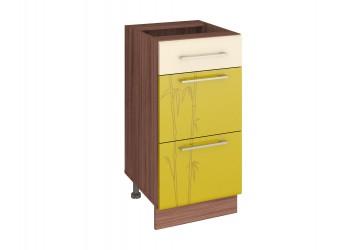Шкаф кухонный напольный Тропикана 17.90 (с системой плавного закрывания)