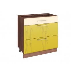 Шкаф кухонный напольный Тропикана 17.92 (с системой плавного закрывания)