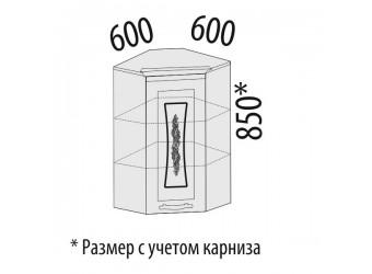 Шкаф кухонный угловой Виктория 20.20