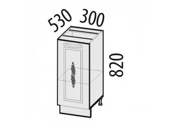 Шкаф кухонный напольный Виктория 20.55