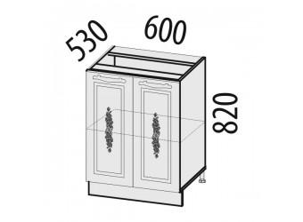 Шкаф кухонный напольный Виктория 20.58