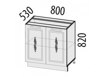Шкаф кухонный напольный Виктория 20.60