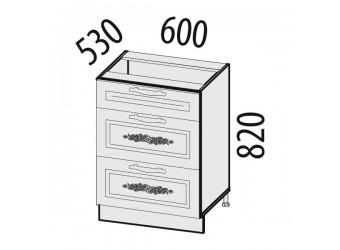 Шкаф кухонный напольный Виктория 20.66