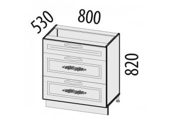 Шкаф кухонный напольный Виктория 20.92 (с системой плавного закрывания)