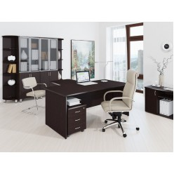 Набор мебели для офиса Лидер-Престиж 7