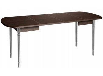 Раздвижной обеденный стол Орфей 10 дуб венге