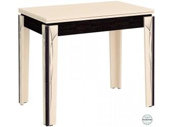 Раздвижной обеденный стол Орфей 23.10 дуб кобург, дуб венге