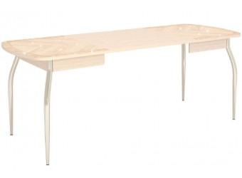 Раздвижной обеденный стол Орфей 30.10 дуб кобург