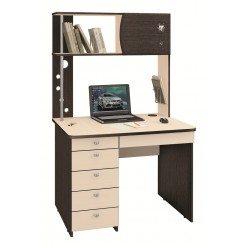 Компьютерный стол Орион 8.10 дуб венге, дуб кобург