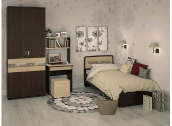 Молодежная спальня Ривьера 6 от Витра