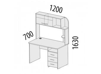 Компьютерный стол Розали 96.26.1