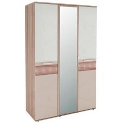 Трехстворчатый шкаф для одежды с зеркалом Розали 96.12