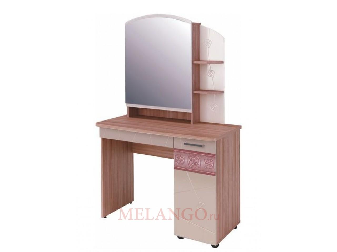 Туалетный столик с зеркалом Розали 96.06