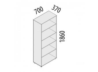 Офисный шкаф Рубин 41.31 (5 секций)