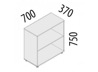 Офисный шкаф Рубин 41.32 (2 секции)