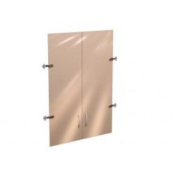 Стеклянные дверцы для шкафа Рубин 42.38