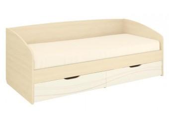 Односпальная кровать Соната 98.05 с выдвижными ящиками