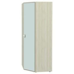 Угловой шкаф для одежды с зеркалом Соната 98.09 правый