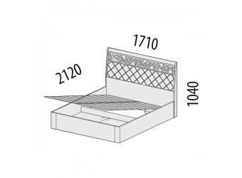 Двуспальная кровать Тиффани 93.21 с подъемным механизмом
