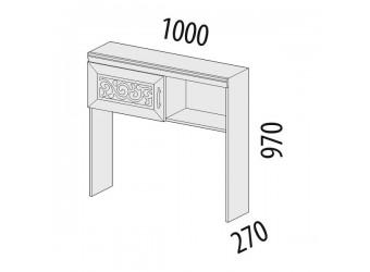 Надстройка Тиффани 93.27 для компьютерного стола