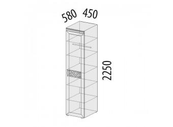 Шкаф-пенал для одежды Тиффани 93.10 левый