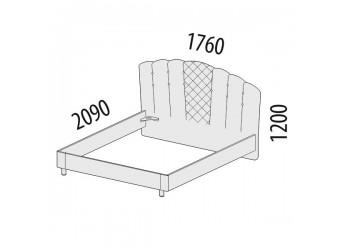 Двуспальная кровать Версаль 99.01