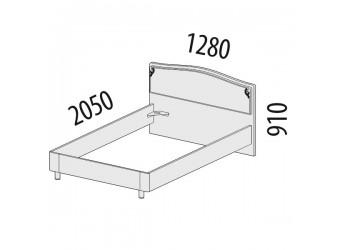 Односпальная кровать Версаль 99.03