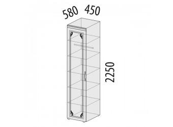 Шкаф-пенал для одежды Версаль 99.10 левый